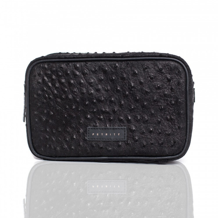 BEAUTY CASE (Black Dotted) main image